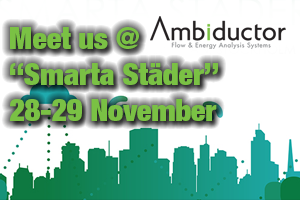 Meet us at Smart Cities in Kista, Sweden 28-29 November