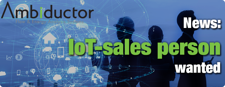 IoT-sales person wanted